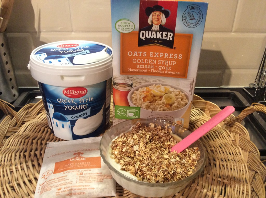 afvallen ontbijt griekse yoghurt